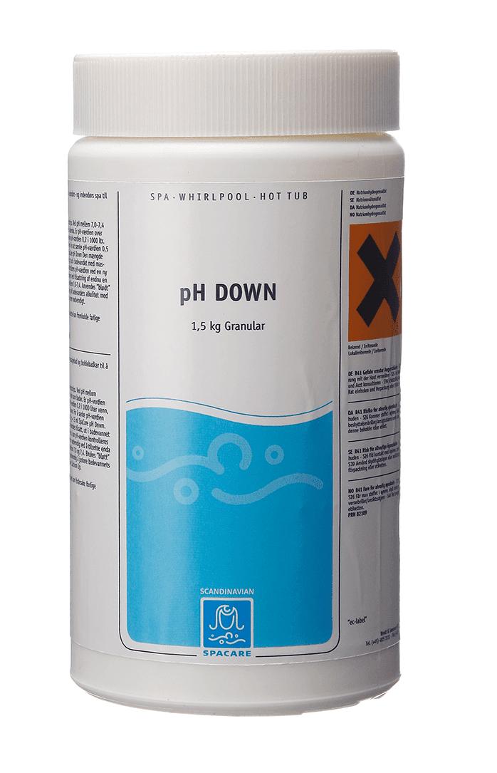 SpaCare pH-Down Granular