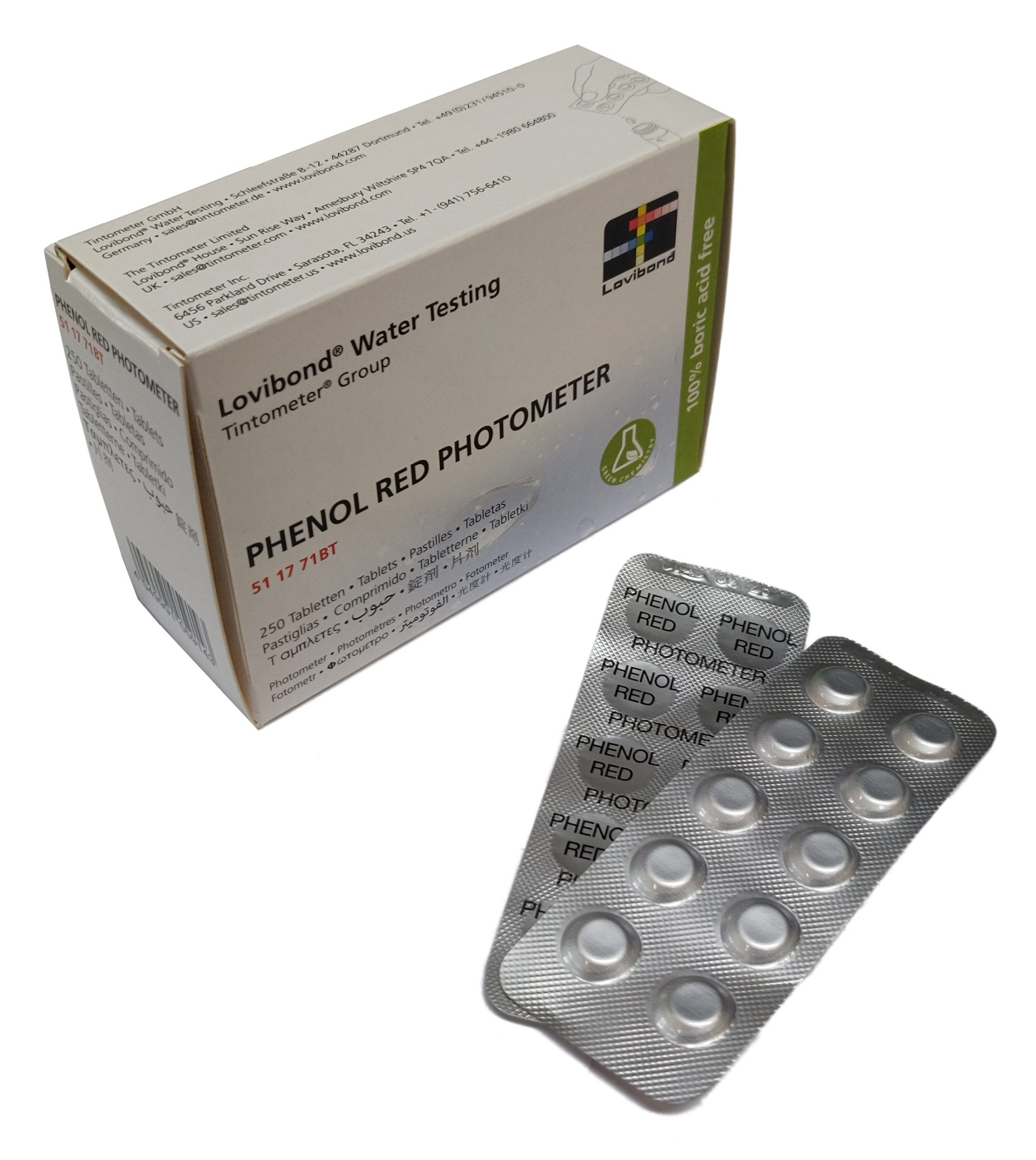 pHenol Red, pH (fotometer)